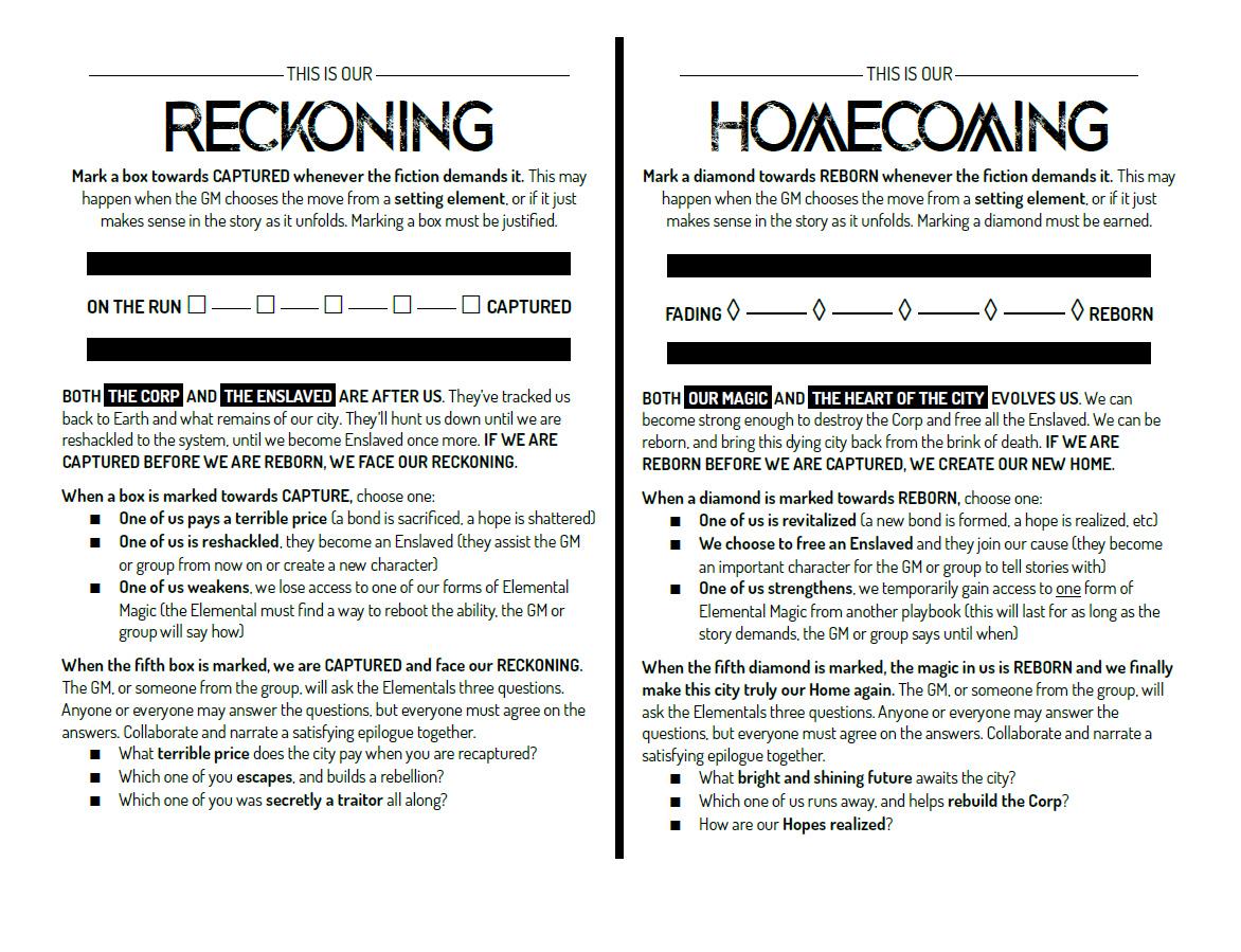 reckoning and homecoming